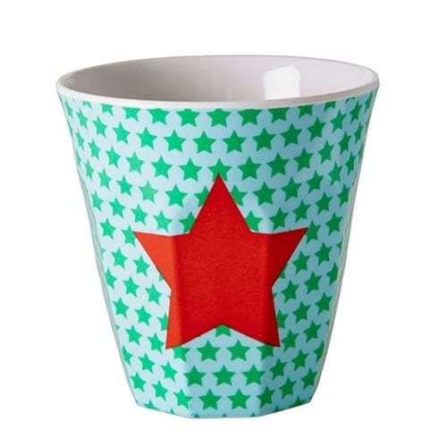 Rice Childrens Melamine Cup | Red Star
