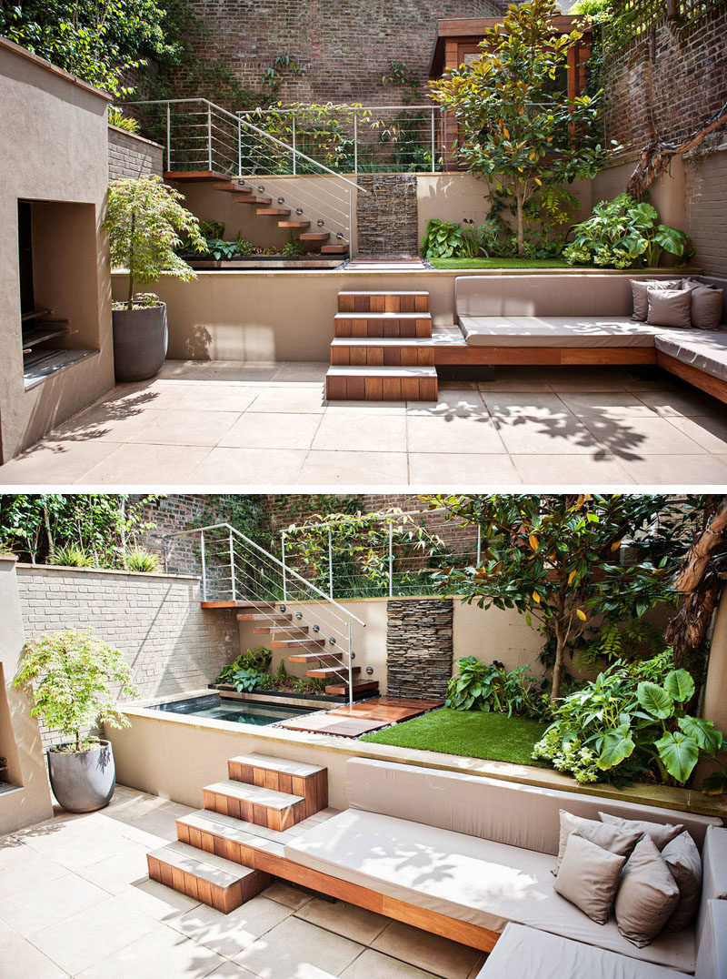 Large Of Small Landscaped Backyards