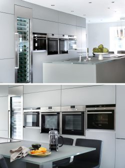 Small Of Light Gray Kitchen Cabinets
