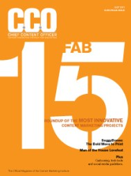 Chief Content Officer - Australian Edition - July 2011