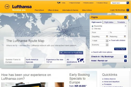 lufthansa for desktop, CMI
