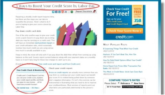 website redesign, boost your credit score, CMI