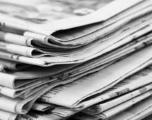 newspaper scrapbooking