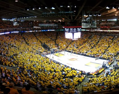 Oracle Arena - Bryce Edwards under CC BY 2.0