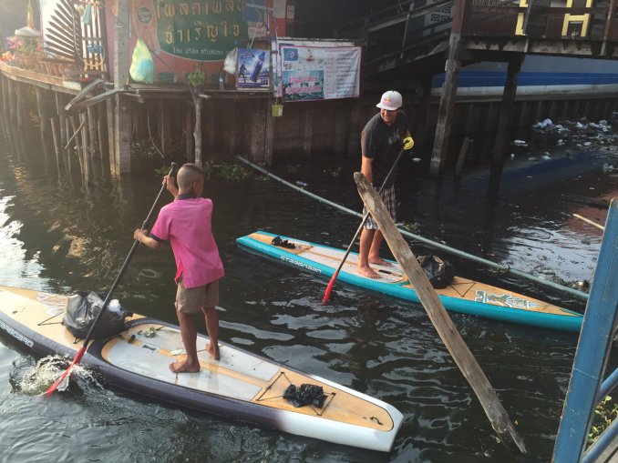 Philip Köster is engaged with Watertrek as an ambassador and also help with Trashhero clean ups in Bangkok