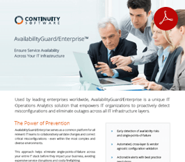 AvailabilityGuard Enterprise