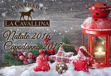 Pranzo Natale 2016 e Cenone Capodanno 2017 - Contrada La Cavallina