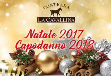 Pranzo Natale 2017 e Cenone Capodanno 2018 - Contrada La Cavallina