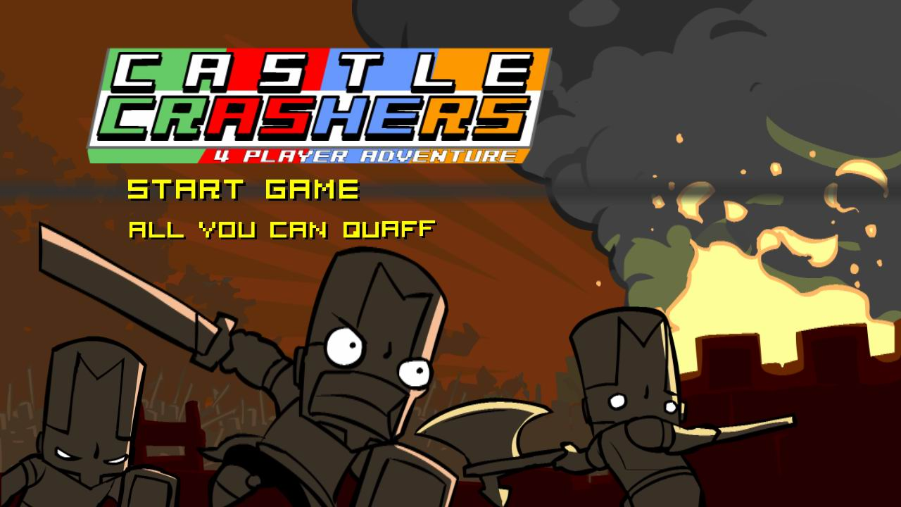 Castle Crashers out on Steam