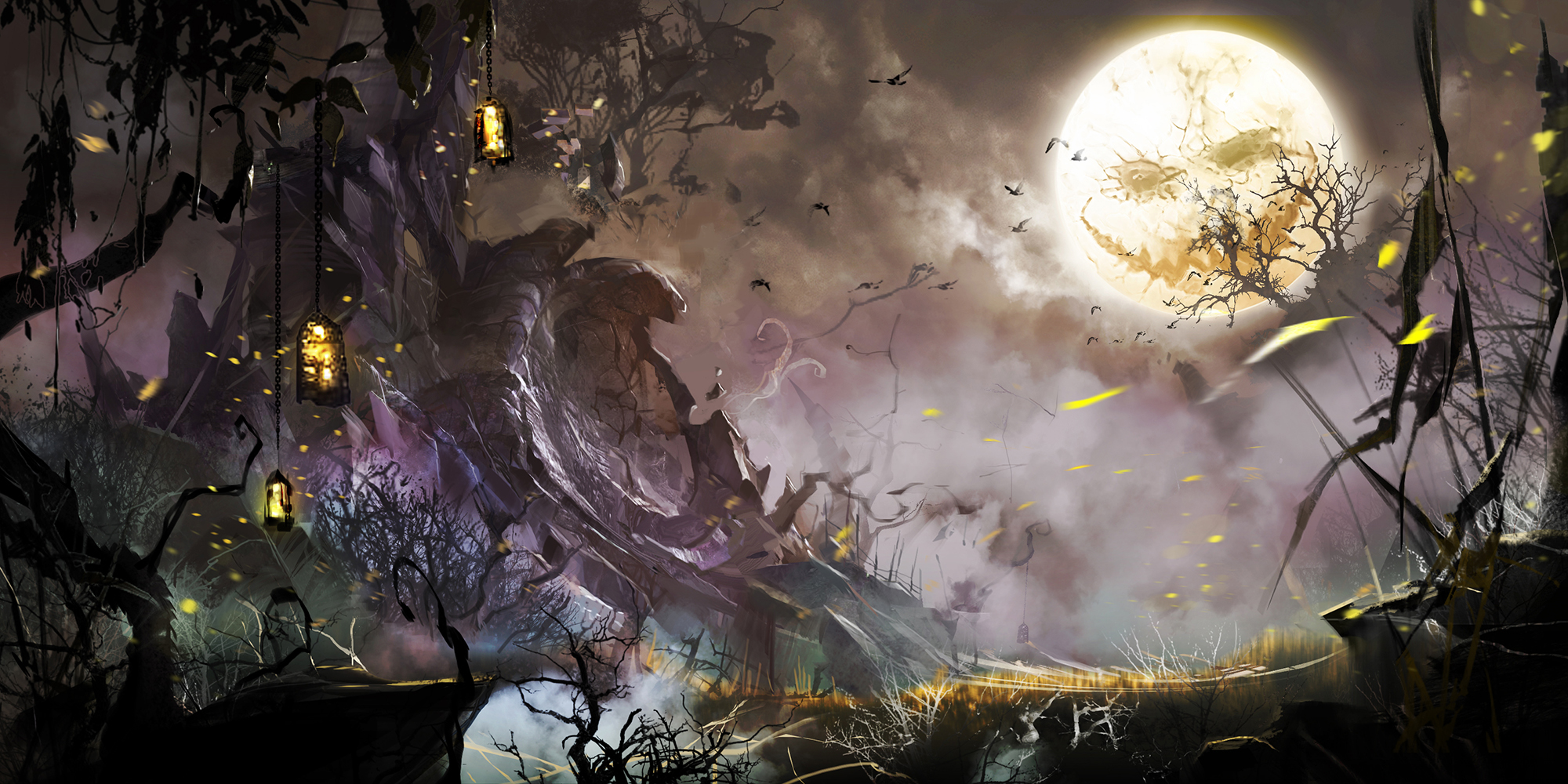 Guild War 2's Shadow of the Mad King