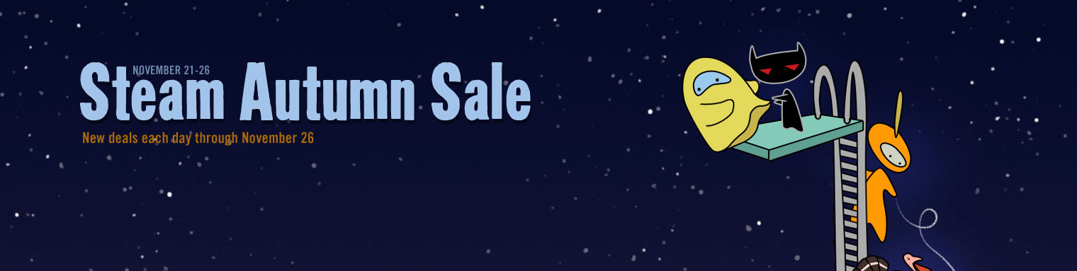 Steam Autumn Sale 2012 Begins
