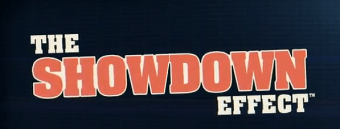 Put Down with The Showdown Effect