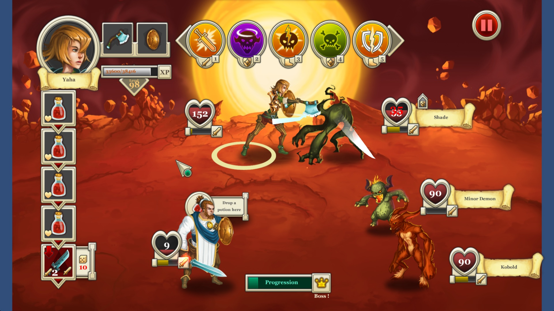 Heroes & Legends: Conquerors of Kolhar Review