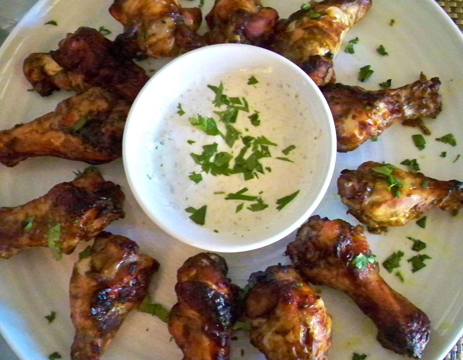 Indian Lime Spiced Chicken Wings