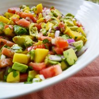 Avocado Mango Salad