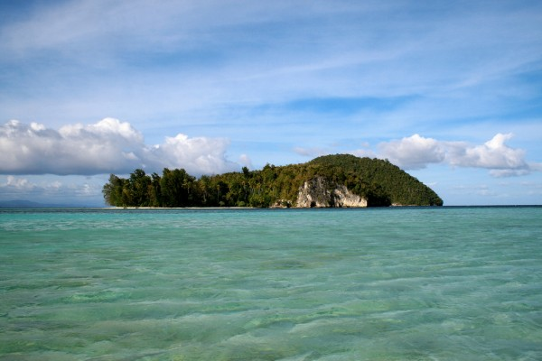 Uninhabitated islands can still be found in Raja Ampat.
