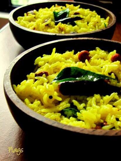 Lemon Rice Recipe - South Indian Lemon Rice Recipe