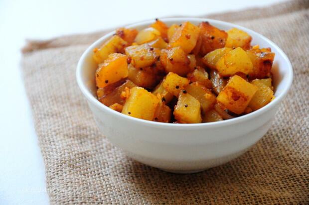 Indian Potato Roast Recipe