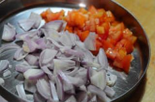 Potato and Soya Chunks Masala Recipe