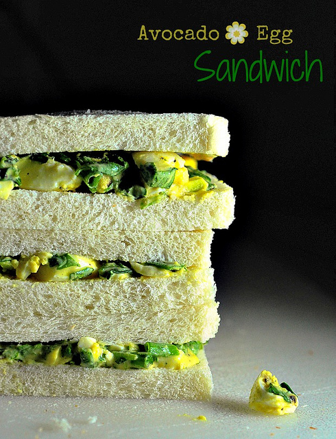 Avocado and Egg Salad Sandwich Recipe