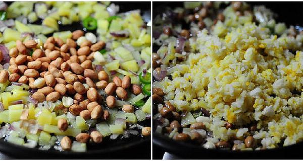 Potato Poha-Batata Poha Recipe-Easy Indian Breakfast