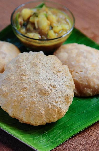 poori recipe-how to make puri