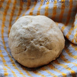 How to Make Chapati Dough (Roti Dough) in a Food Processor