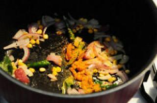 cabbage poriyal recipe-how to make cabbage poriyal-3