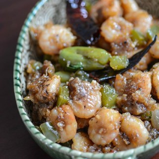 Dry Chilli Prawns Recipe – How to make Indian Chilli Prawns