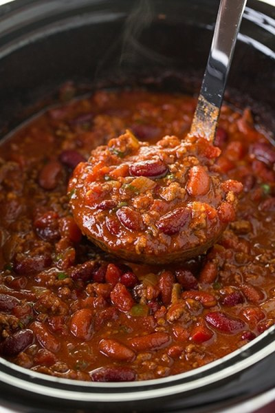 Slow Cooker Chili (BEST Chili Ever!) - Cooking Classy