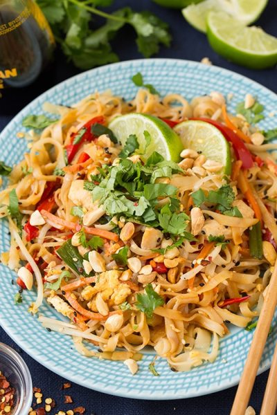 Pad Thai Recipe (with Chicken) - Cooking Classy