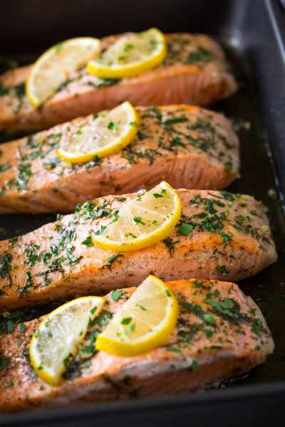 Salmon Roasted in Butter {Super Easy Recipe} - Cooking Classy