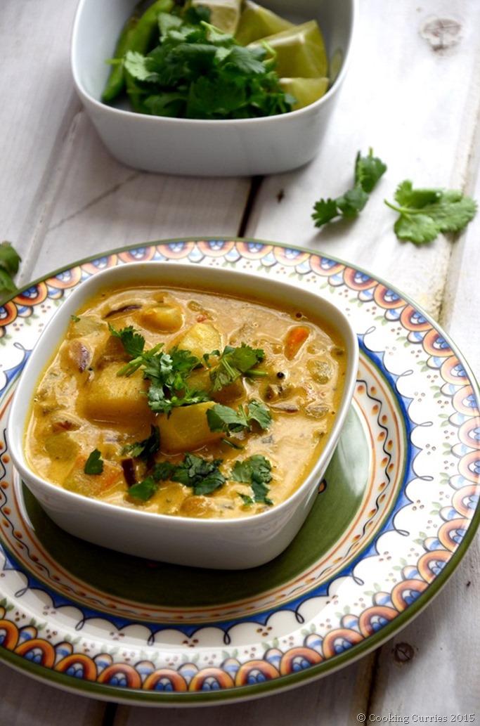 Kerala Style Potato Curry with Coconut Milk (2)