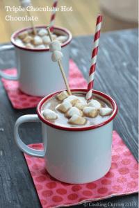 Triple Chooclate Hot Chocolate