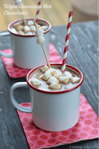 Triple Chocolate Hot Chocolate