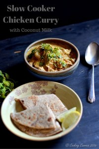 Slow Cooker Chicken Curry with Coconut Milk
