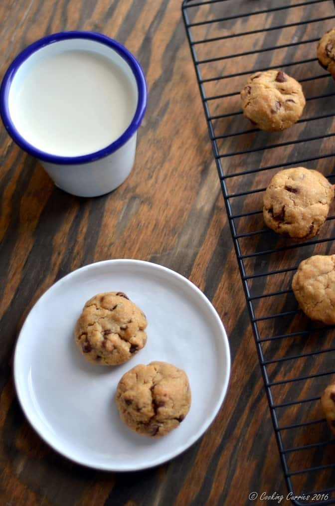Eggless Chocolate Chip Cookies with Condensed Milk (4)