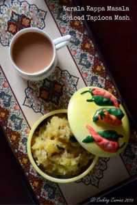 Kerala Kappa Masala | Spiced Cassava Mash