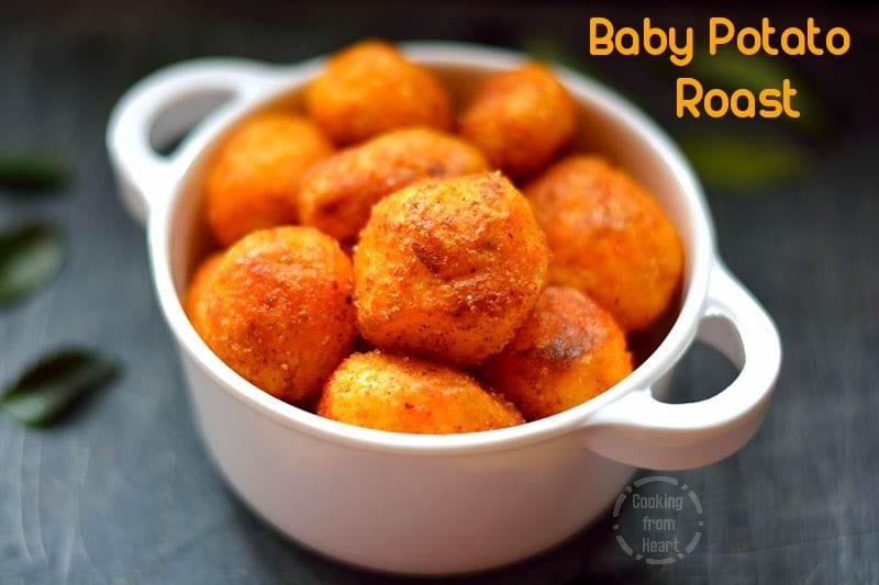 Baby Potato Roast   Stove Top Roast Baby Potatoes