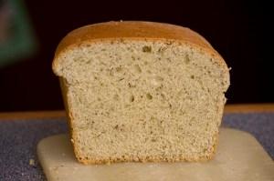 leftover half loaf of bread