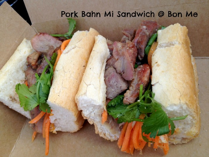 Bahn Mi Sandwich at Bon Me truck