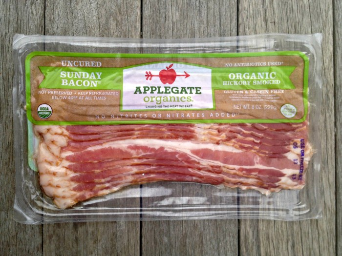 Applegate Organic Bacon