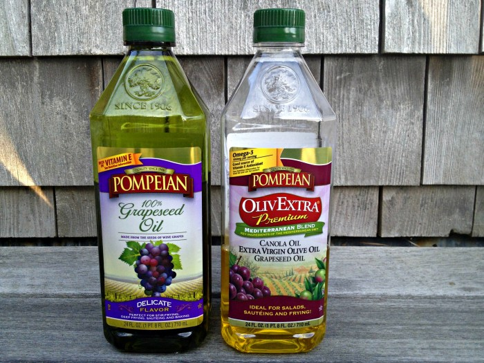 Pompeian Oils on Cooking with Books