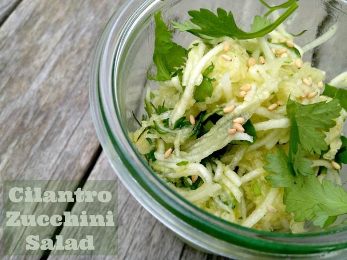 Cilantro-Zucchini-Salad
