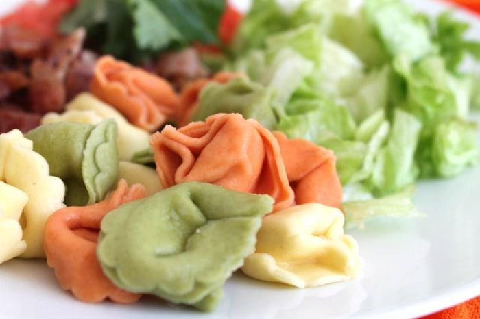 BLT Tortellini Salad  - Pasta