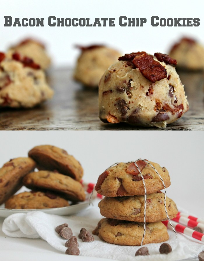 Bacon Cookies Collage
