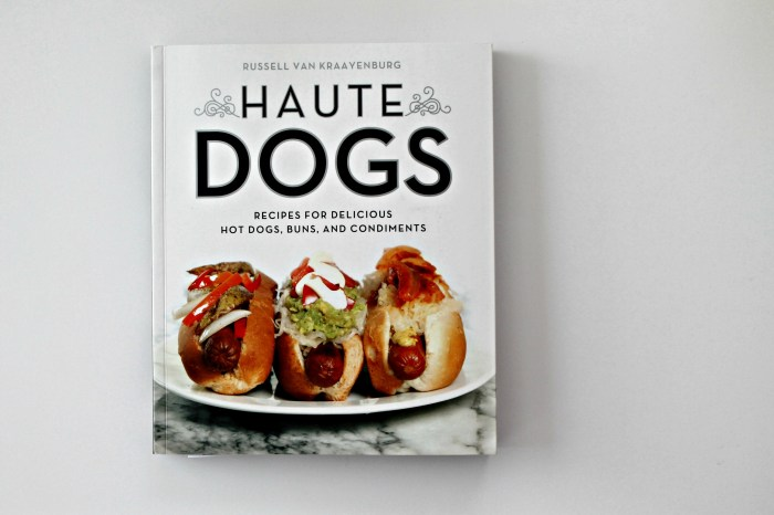 Haute Dogs Cookbook