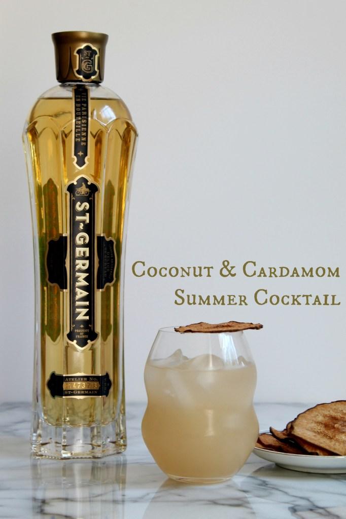 Coconut & Cardamom Summer Cocktail 01