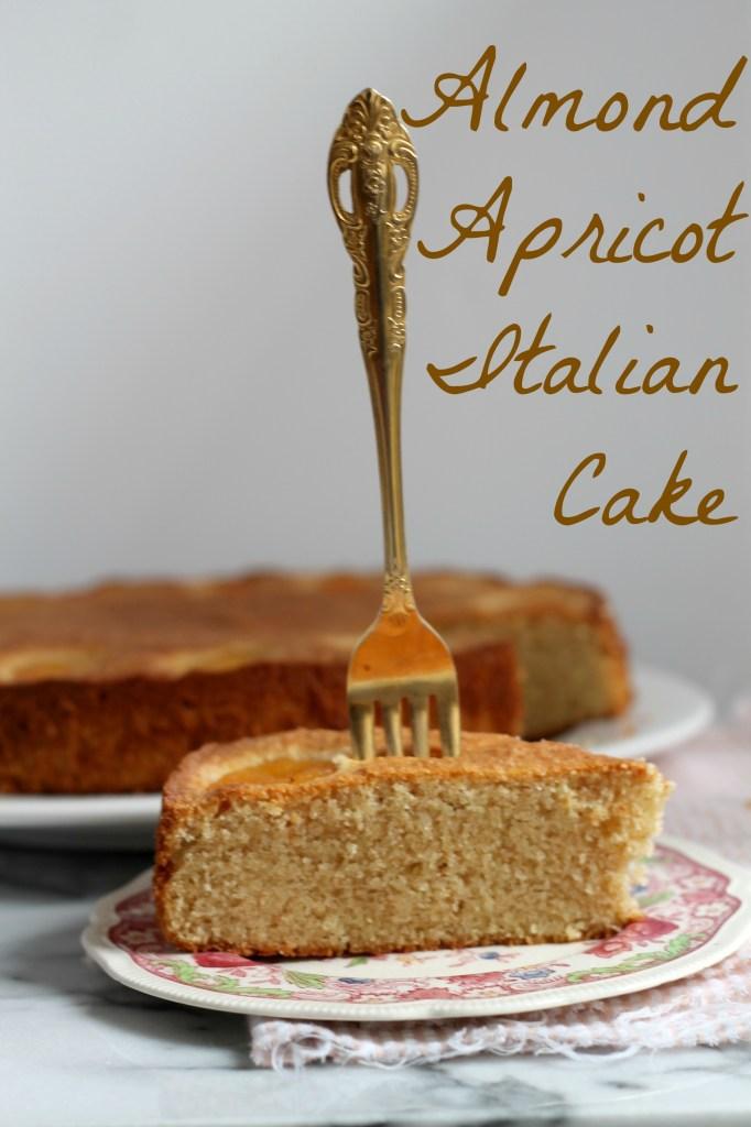 Almond Apricot Italian Cake 01