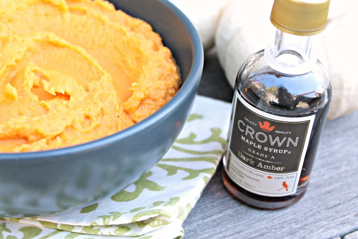 Sweet Potato Maple Puree 02